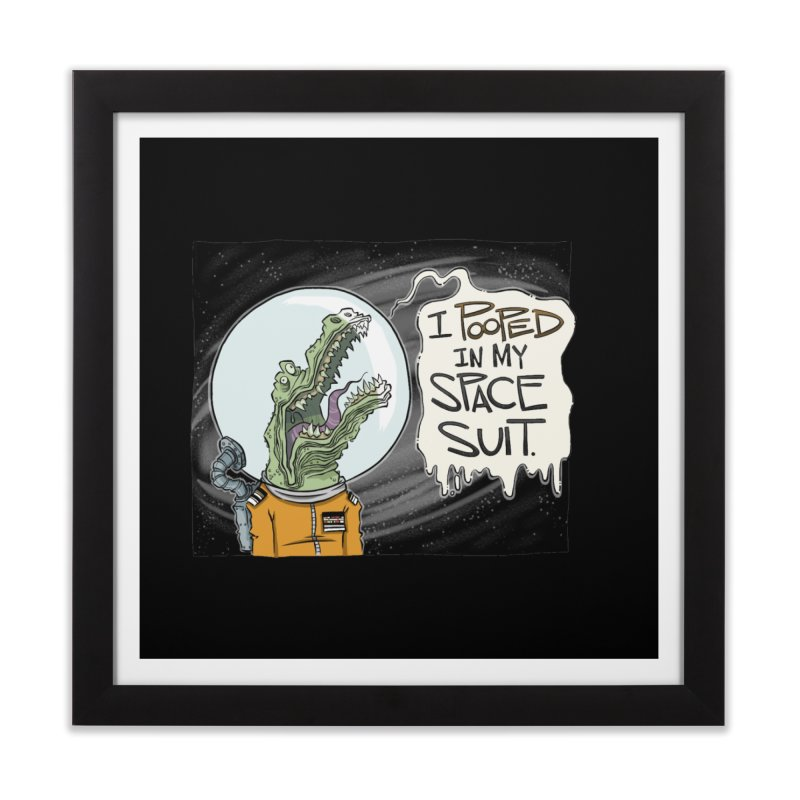 I Pooped in my Spacesuit. Home Framed Fine Art Print by westinchurch's Artist Shop