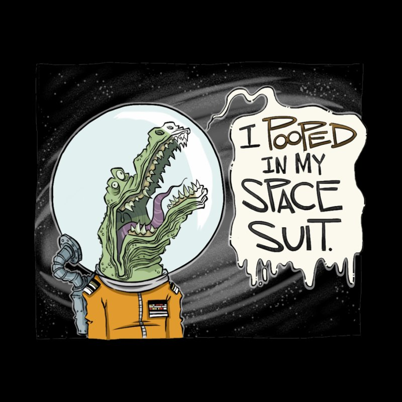 I Pooped in my Spacesuit. Home Fine Art Print by westinchurch's Artist Shop