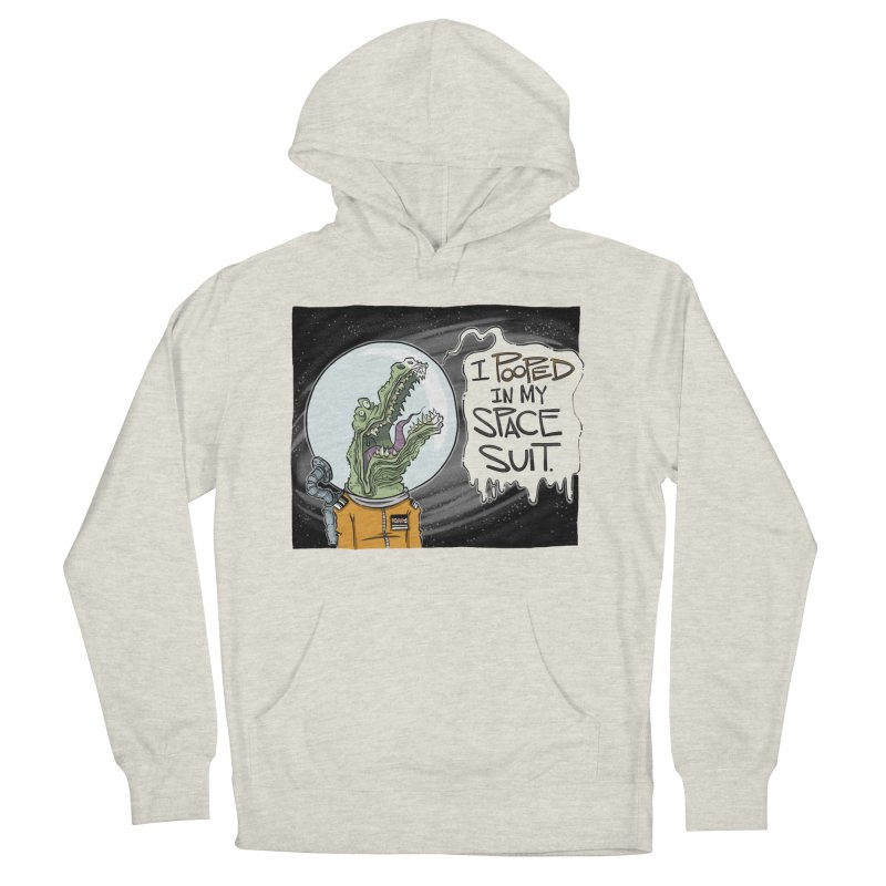 I Pooped in my Spacesuit. Men's Pullover Hoody by westinchurch's Artist Shop