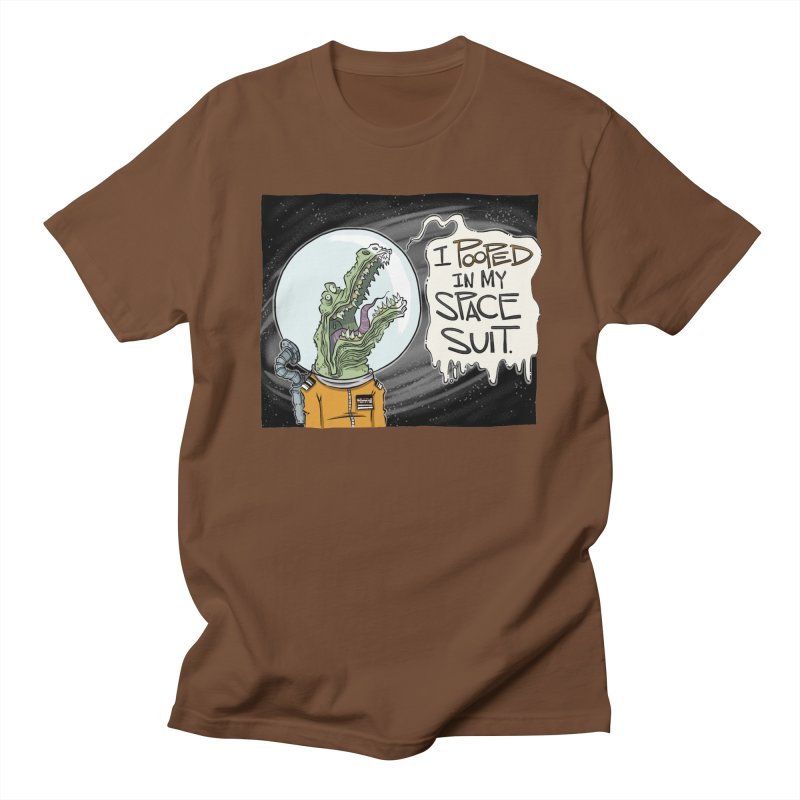 I Pooped in my Spacesuit. Women's Unisex T-Shirt by westinchurch's Artist Shop