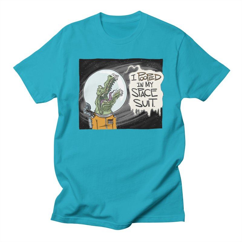 I Pooped in my Spacesuit. Men's T-shirt by westinchurch's Artist Shop