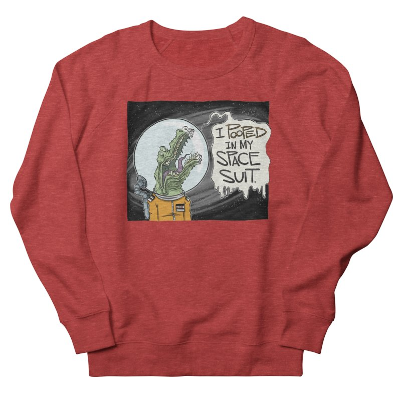 I Pooped in my Spacesuit. Men's Sweatshirt by westinchurch's Artist Shop
