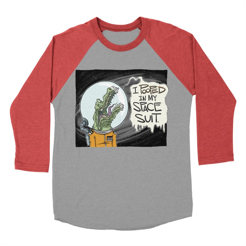 I Pooped in my Spacesuit. Women's Baseball Triblend T-Shirt by westinchurch's Artist Shop