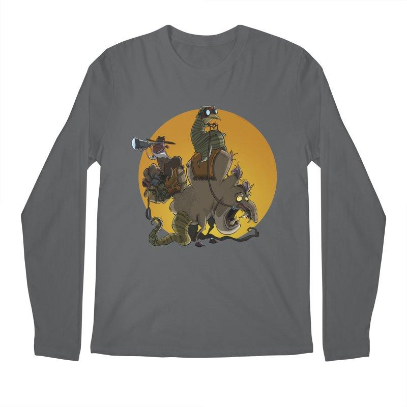 Explorers Men's Longsleeve T-Shirt by westinchurch's Artist Shop