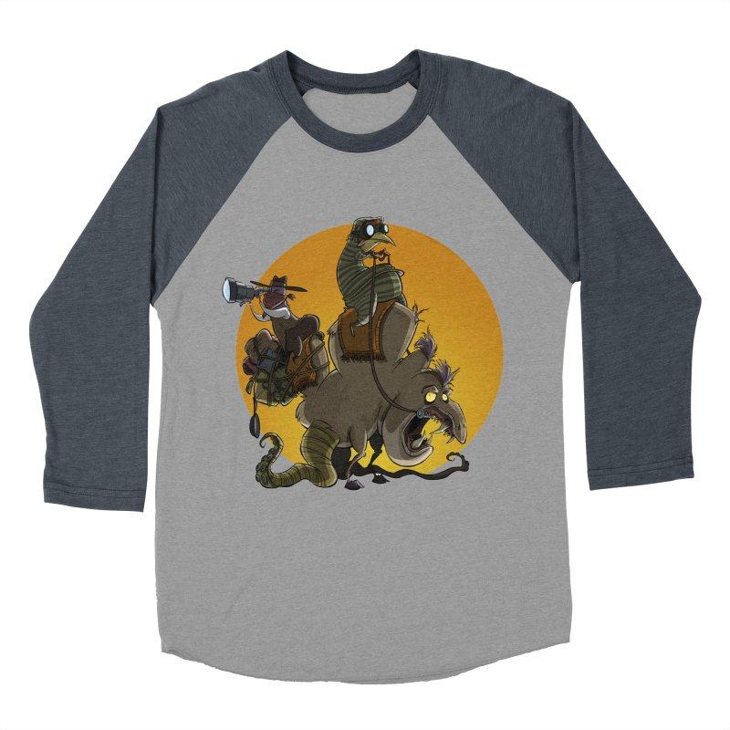 Explorers Women's Baseball Triblend T-Shirt by westinchurch's Artist Shop