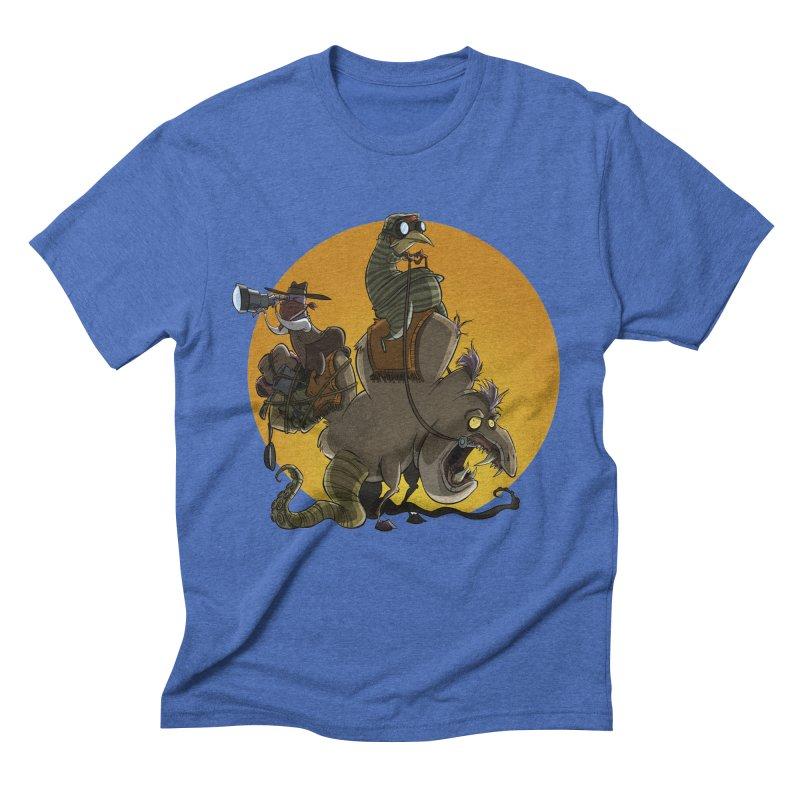 Explorers Men's Triblend T-shirt by westinchurch's Artist Shop