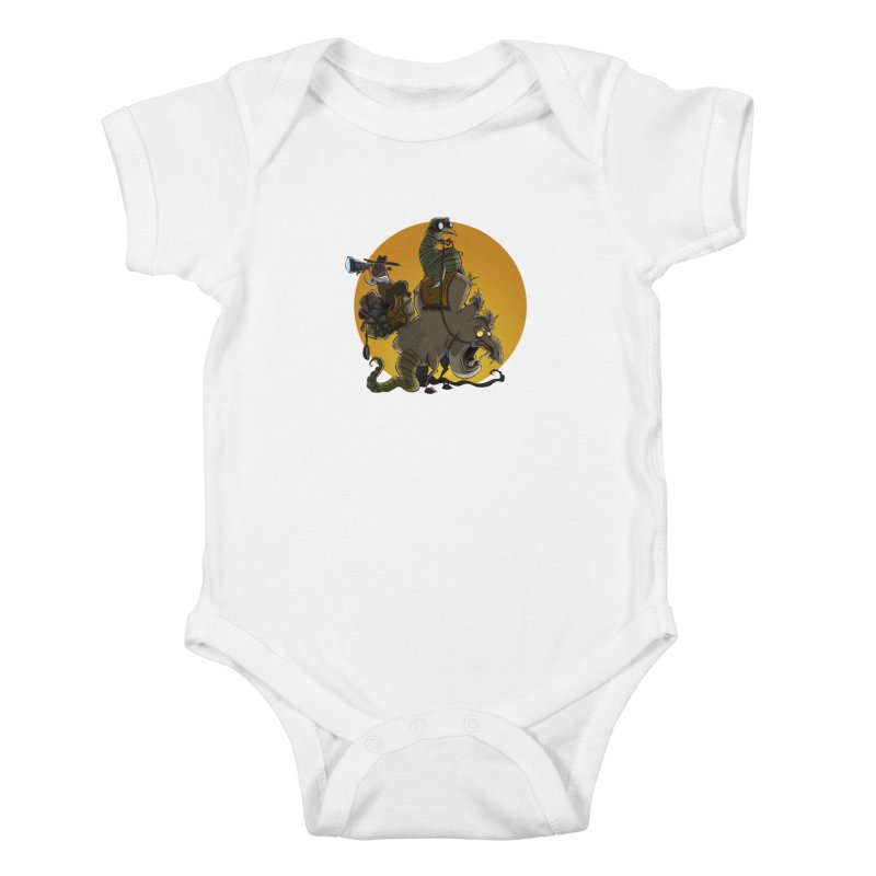 Explorers Kids Baby Bodysuit by westinchurch's Artist Shop
