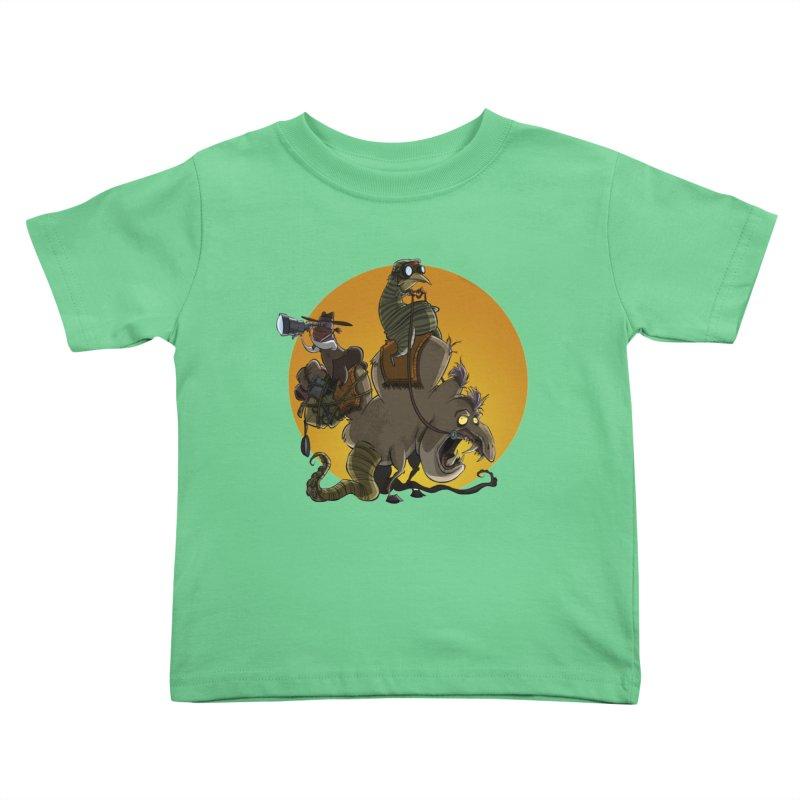 Explorers Kids Toddler T-Shirt by westinchurch's Artist Shop