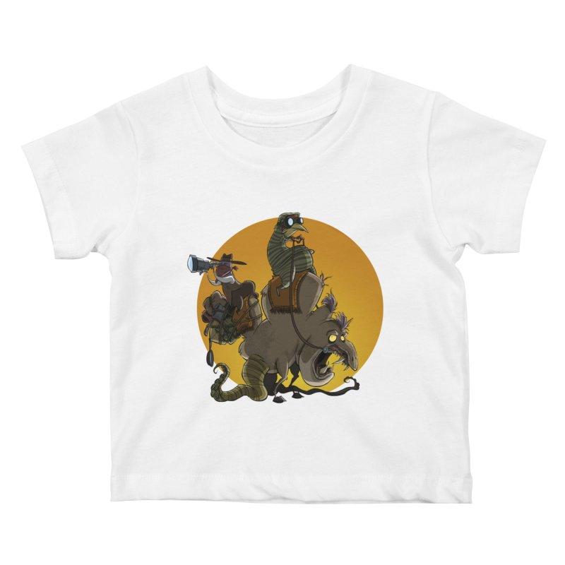 Explorers Kids Baby T-Shirt by westinchurch's Artist Shop