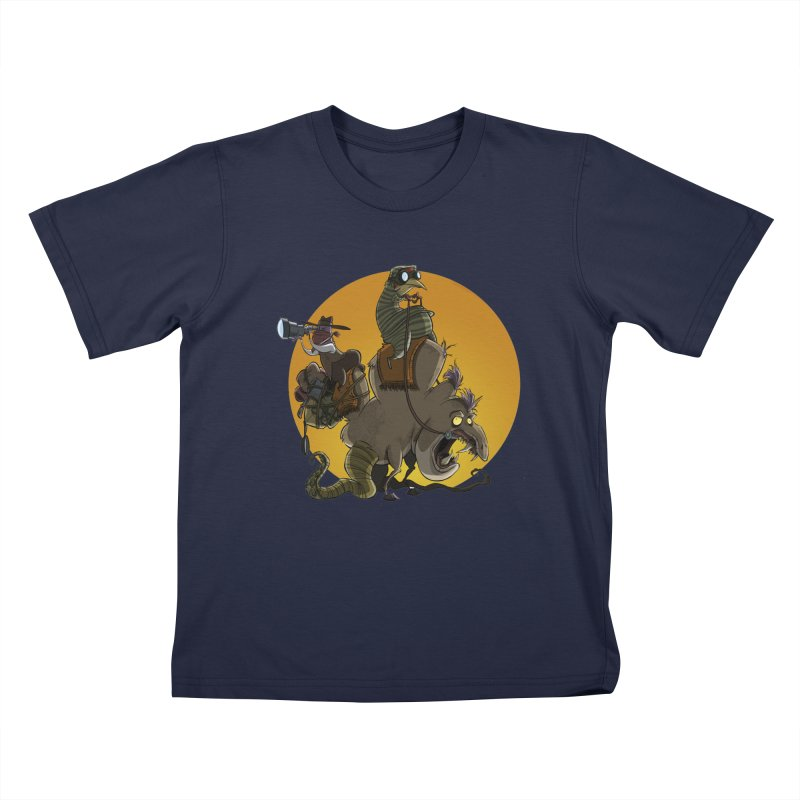 Explorers Kids T-shirt by westinchurch's Artist Shop