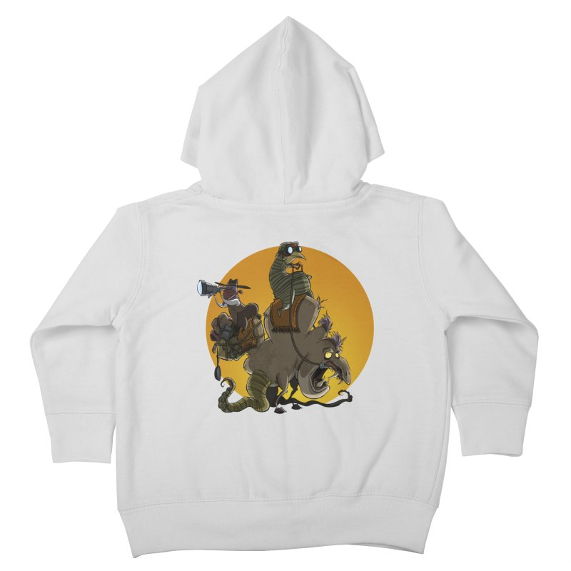 Explorers Kids Toddler Zip-Up Hoody by westinchurch's Artist Shop