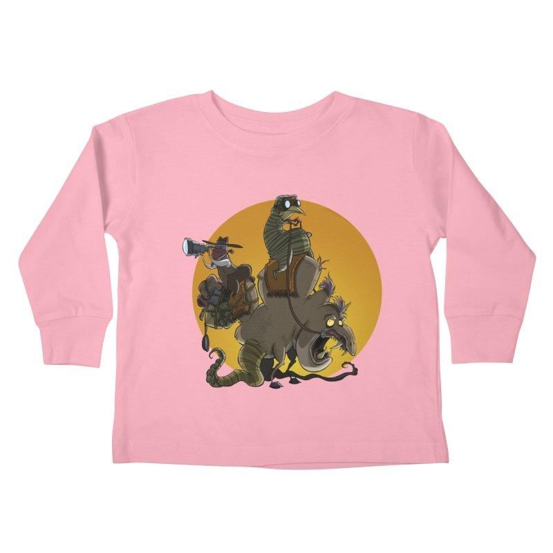 Explorers Kids Toddler Longsleeve T-Shirt by westinchurch's Artist Shop