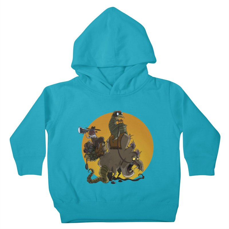 Explorers Kids Toddler Pullover Hoody by westinchurch's Artist Shop