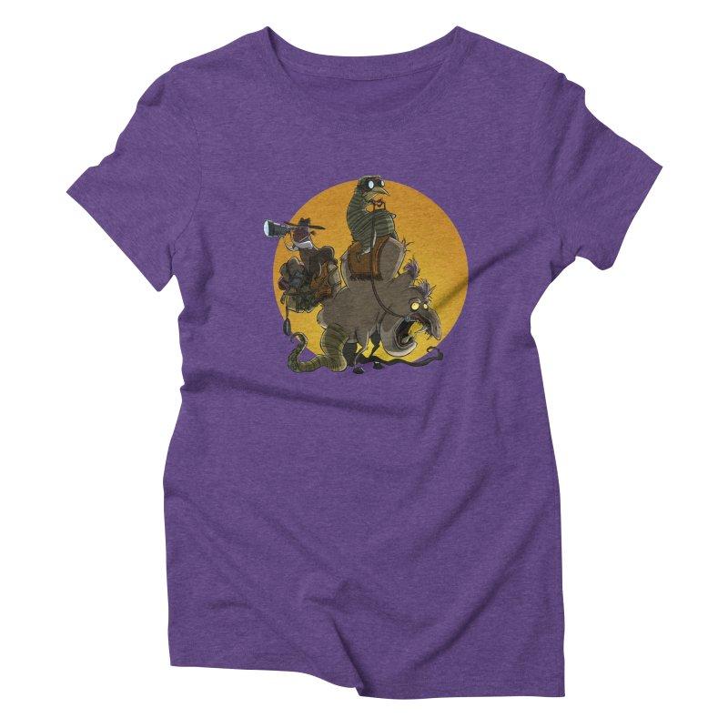 Explorers Women's Triblend T-shirt by westinchurch's Artist Shop