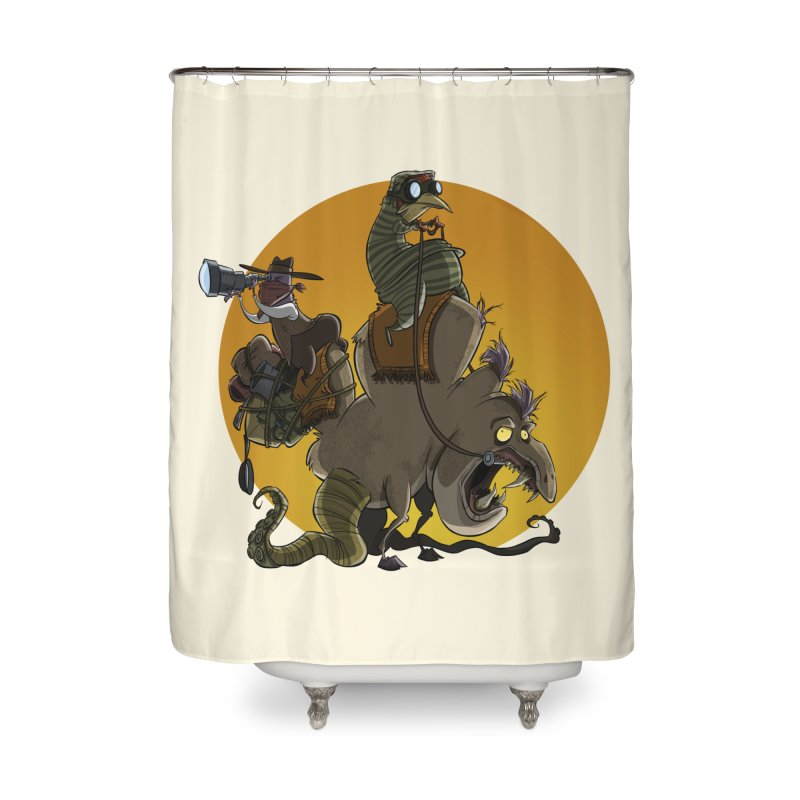 Explorers Home Shower Curtain by westinchurch's Artist Shop