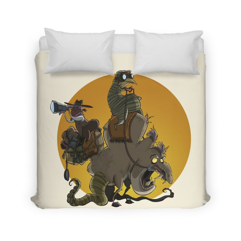 Explorers Home Duvet by westinchurch's Artist Shop