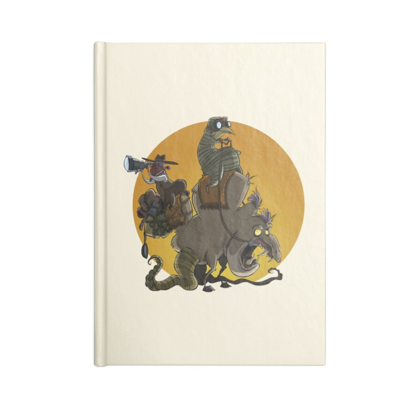 Explorers Accessories Notebook by westinchurch's Artist Shop