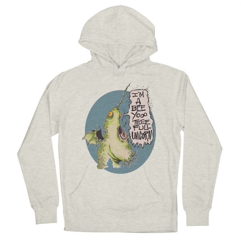 Beeyoooteeefull Unicorn Men's Pullover Hoody by westinchurch's Artist Shop