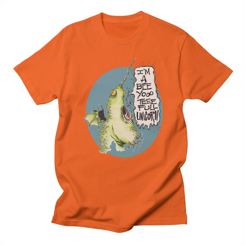 Beeyoooteeefull Unicorn Women's Unisex T-Shirt by westinchurch's Artist Shop