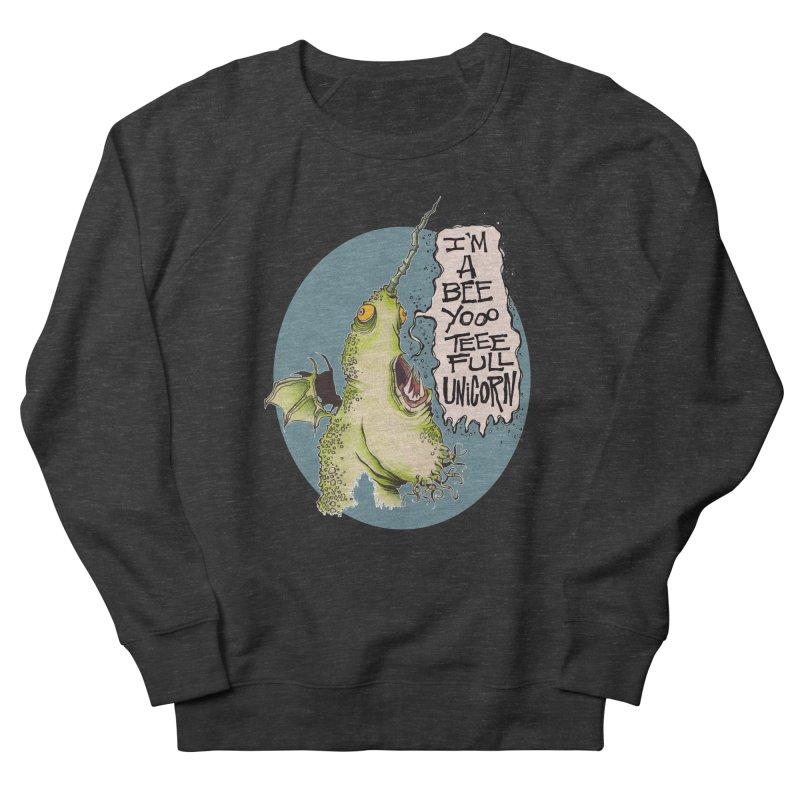 Beeyoooteeefull Unicorn Women's Sweatshirt by westinchurch's Artist Shop