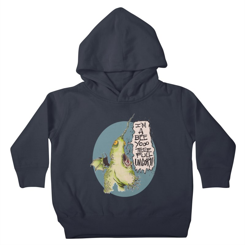 Beeyoooteeefull Unicorn Kids Toddler Pullover Hoody by westinchurch's Artist Shop