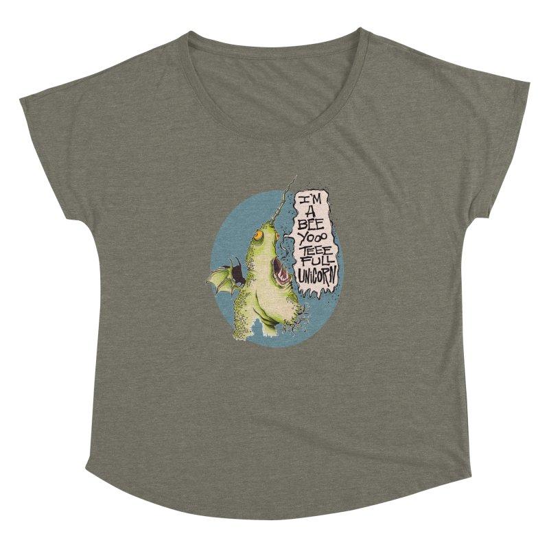 Beeyoooteeefull Unicorn Women's Dolman by westinchurch's Artist Shop