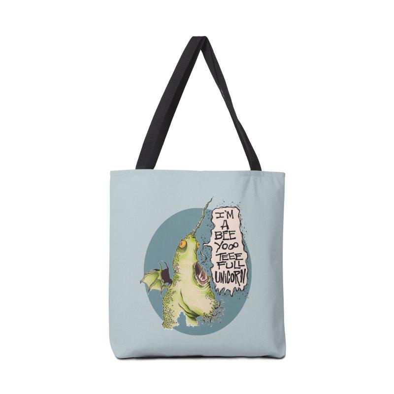 Beeyoooteeefull Unicorn Accessories Bag by westinchurch's Artist Shop