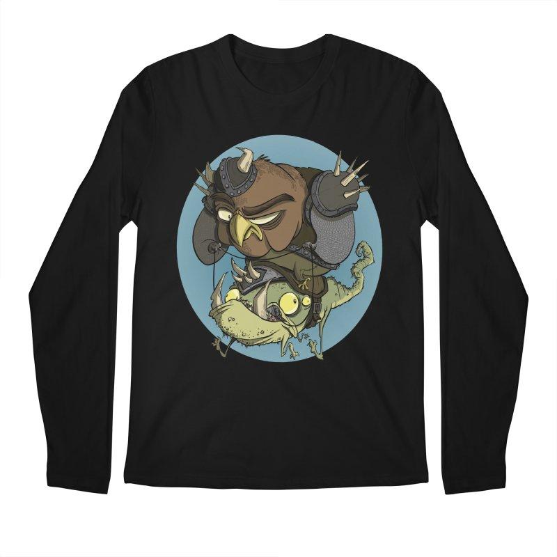 Riding Into Battle Men's Longsleeve T-Shirt by westinchurch's Artist Shop