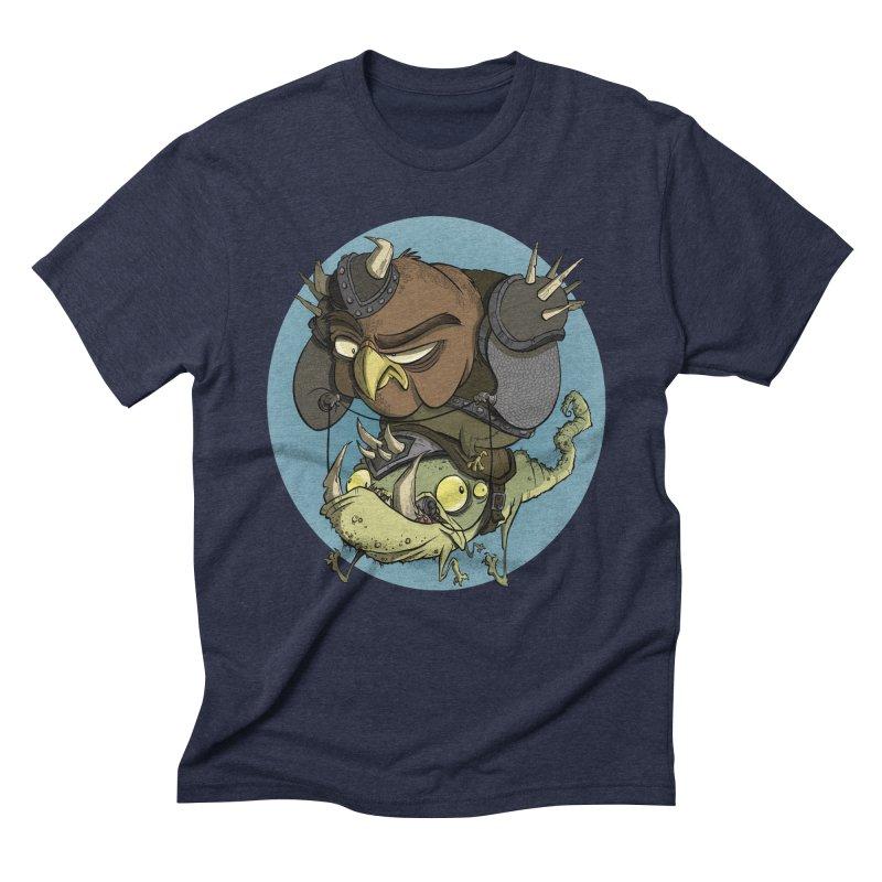 Riding Into Battle Men's Triblend T-Shirt by westinchurch's Artist Shop