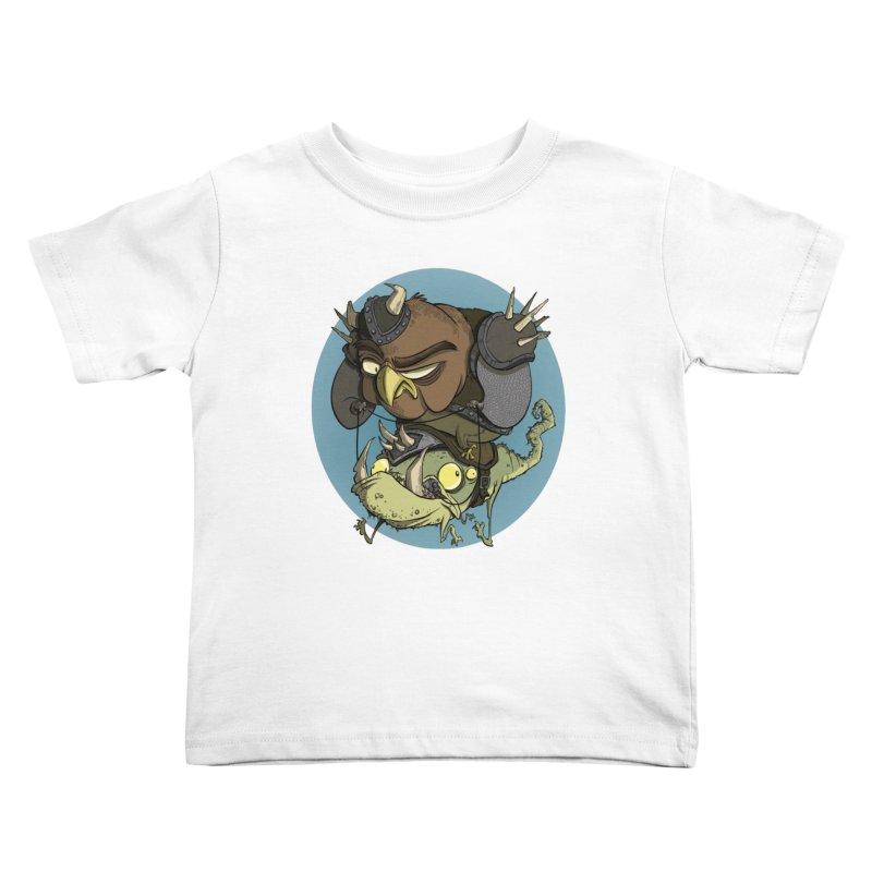 Riding Into Battle Kids Toddler T-Shirt by westinchurch's Artist Shop