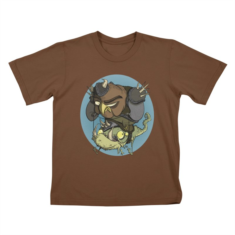 Riding Into Battle Kids T-Shirt by westinchurch's Artist Shop