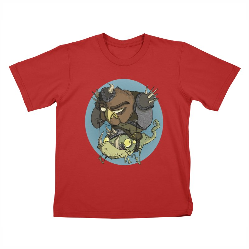Riding Into Battle Kids T-shirt by westinchurch's Artist Shop