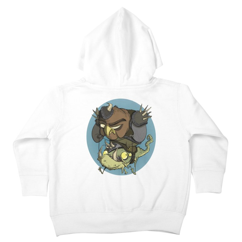 Riding Into Battle Kids Toddler Zip-Up Hoody by westinchurch's Artist Shop