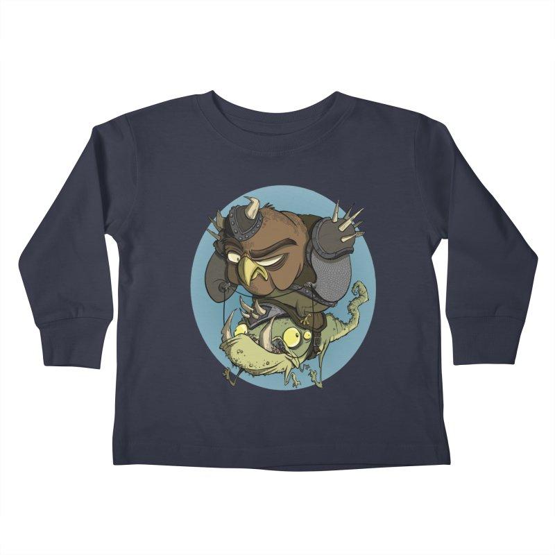 Riding Into Battle Kids Toddler Longsleeve T-Shirt by westinchurch's Artist Shop