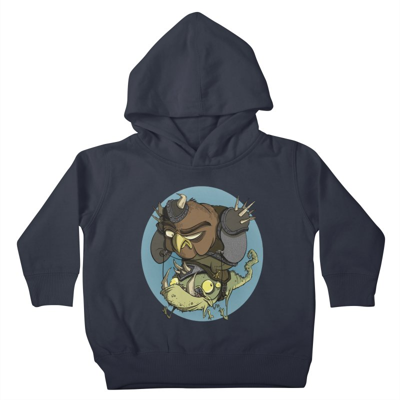 Riding Into Battle Kids Toddler Pullover Hoody by westinchurch's Artist Shop