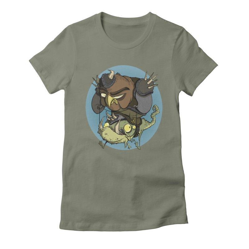 Riding Into Battle Women's Fitted T-Shirt by westinchurch's Artist Shop