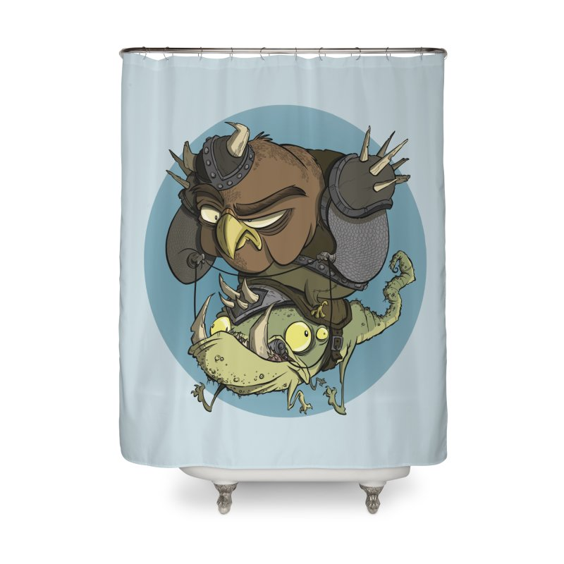 Riding Into Battle Home Shower Curtain by westinchurch's Artist Shop