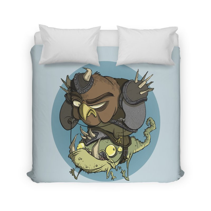 Riding Into Battle Home Duvet by westinchurch's Artist Shop