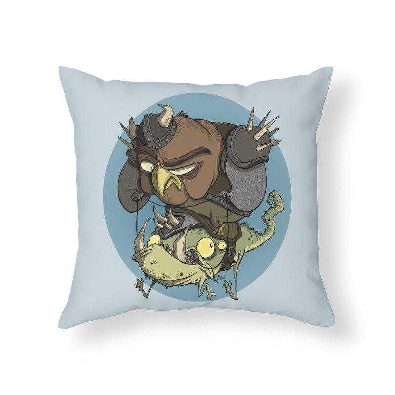 Riding Into Battle Home Throw Pillow by westinchurch's Artist Shop