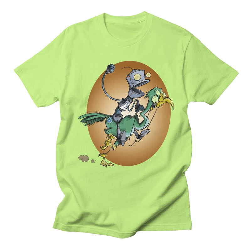 Ostrich Race Men's T-shirt by westinchurch's Artist Shop
