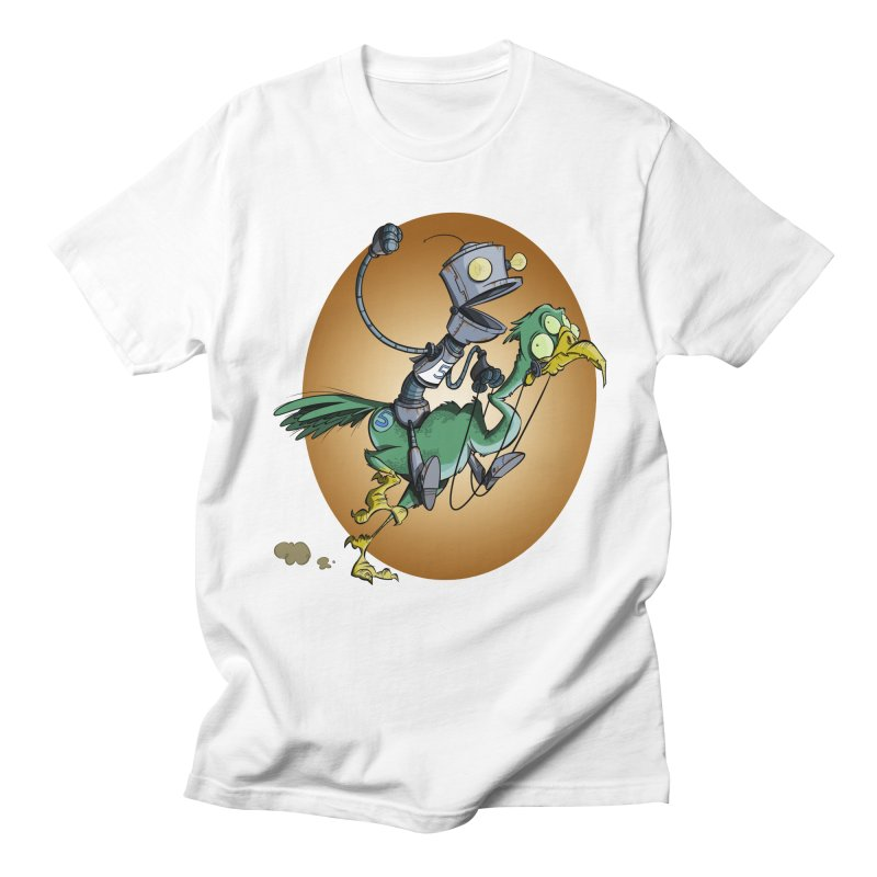 Ostrich Race Women's Unisex T-Shirt by westinchurch's Artist Shop