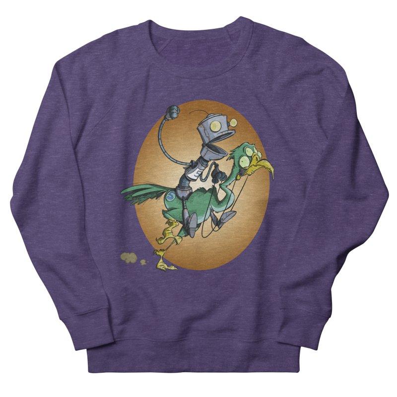 Ostrich Race Women's Sweatshirt by westinchurch's Artist Shop