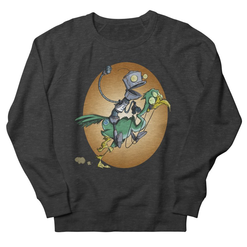 Ostrich Race Men's Sweatshirt by westinchurch's Artist Shop