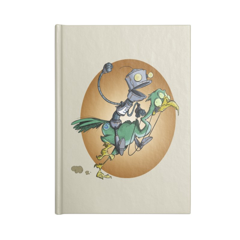 Ostrich Race Accessories Notebook by westinchurch's Artist Shop