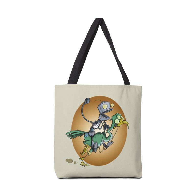 Ostrich Race Accessories Bag by westinchurch's Artist Shop