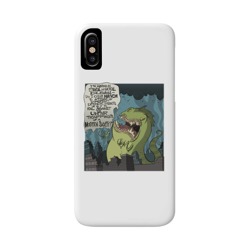 Existential Godzilla Accessories Phone Case by westinchurch's Artist Shop