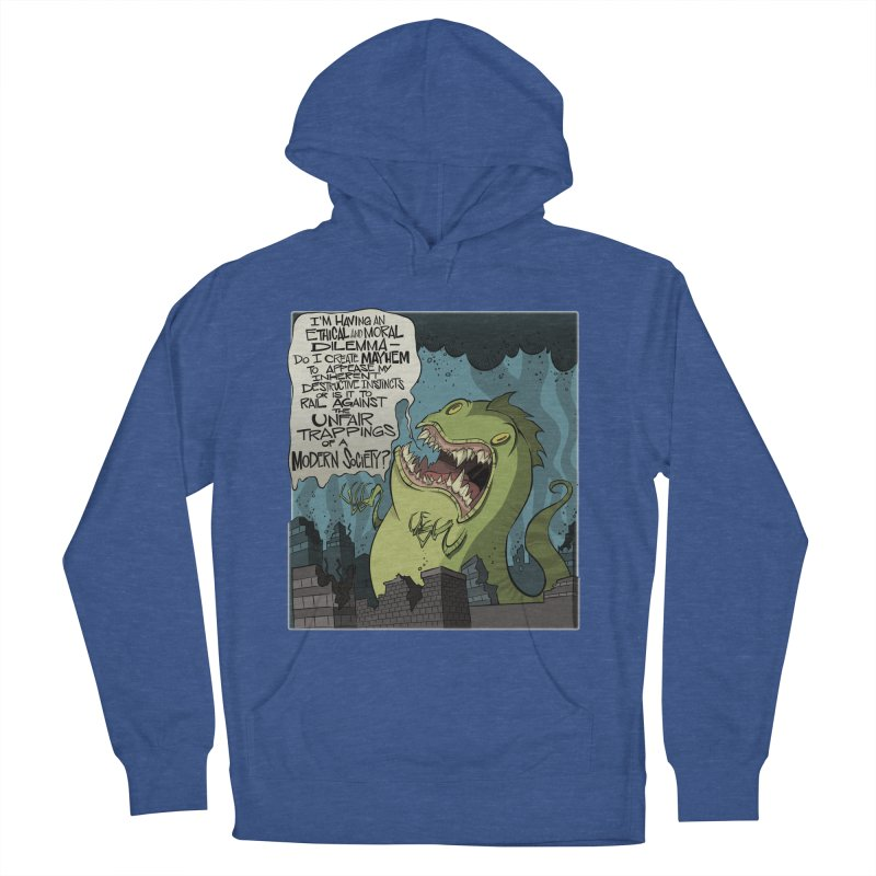 Existential Godzilla Women's Pullover Hoody by westinchurch's Artist Shop