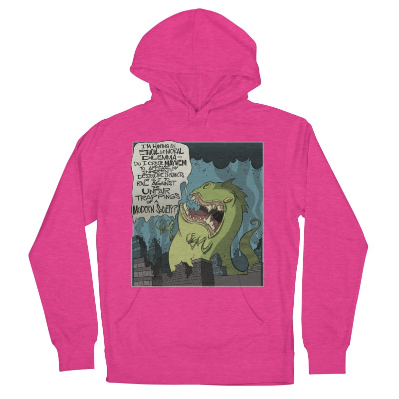 Existential Godzilla Women's Pullover Hoody by westinchurch's Artist Shop
