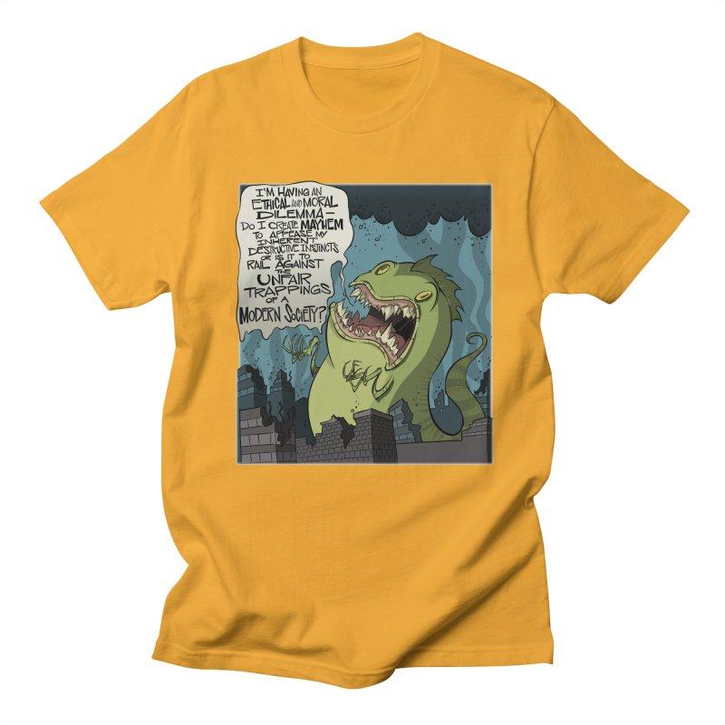 Existential Godzilla Women's Unisex T-Shirt by westinchurch's Artist Shop