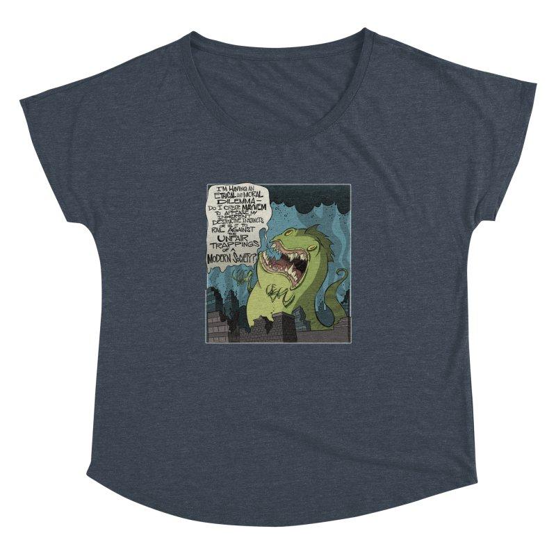 Existential Godzilla Women's Dolman by westinchurch's Artist Shop